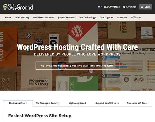 Siteground WordPress Managed Hosting