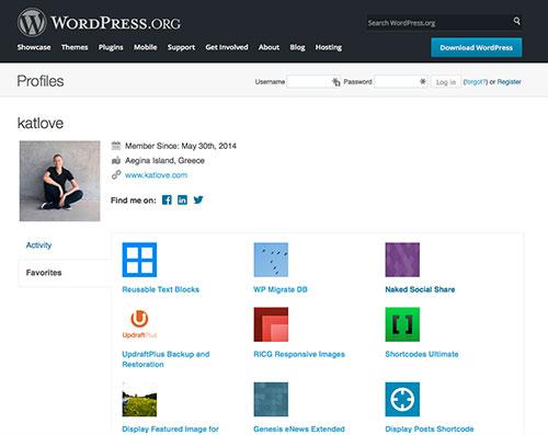 Kat Love's favorite WordPress plugins