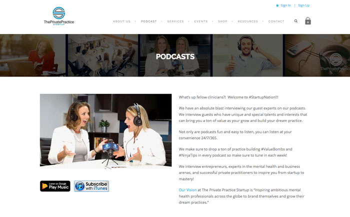 Best Podcasts For Building Your Private Practice Empathysites