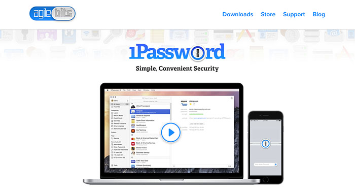 1Password password manager