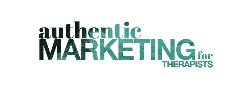Authentic Marketing for Therapists Facebook Group