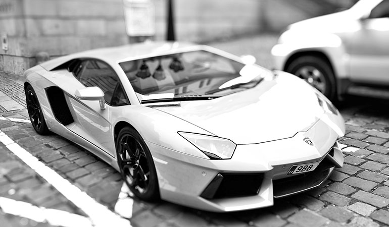 Custom website expensive as a lamborgini