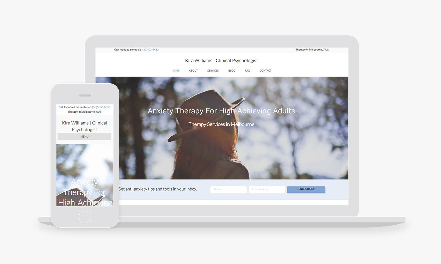 Psychotherapy Website Design Templates and Themes - Empathysites