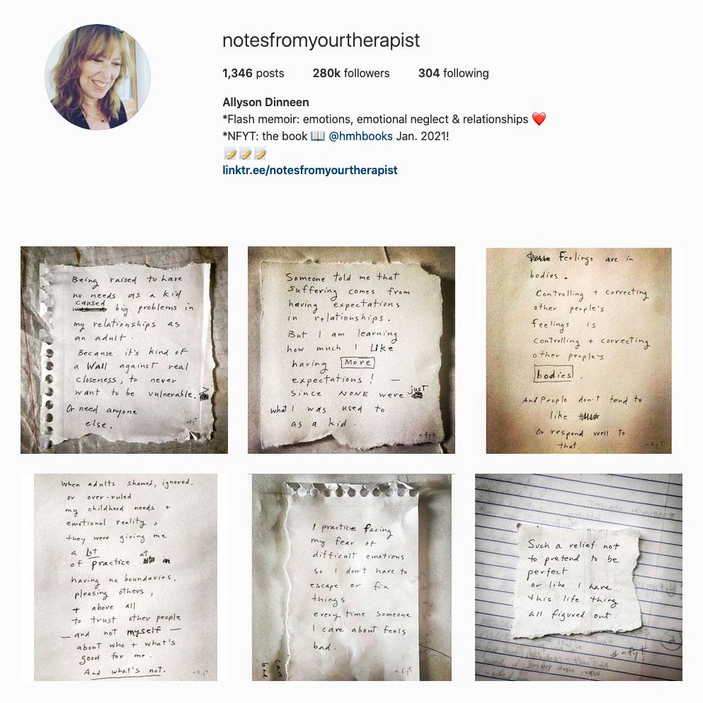 allyson-dinneen-best-therapist-instagram-account