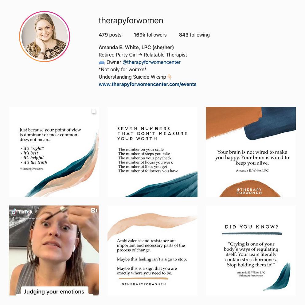 amanda-e-white-lpc-best-therapist-instagram-account