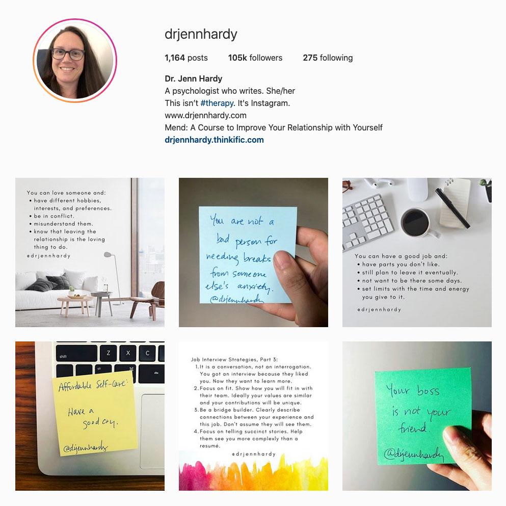 dr-jenn-hardy-best-therapist-instagram-account