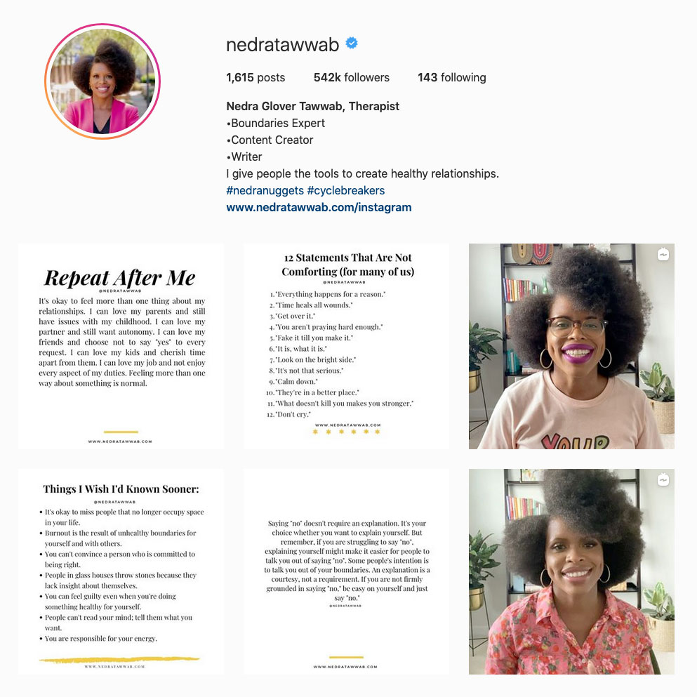 nedra-glover-tawwab-best-therapist-on-instagram-account